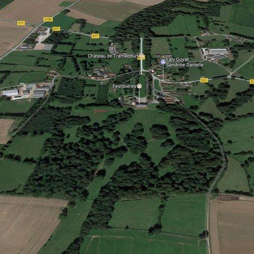 Plan du domaine - Vue aérienne